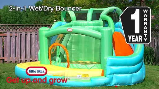 Little Tikes 2-in-1 Wet Dry Bouncer - image 10 from the video