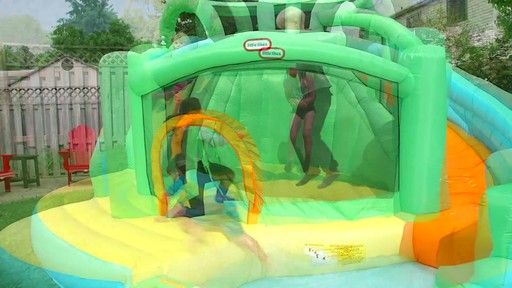 Little Tikes 2-in-1 Wet Dry Bouncer - image 9 from the video