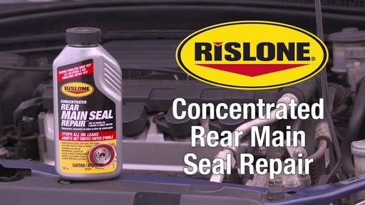 Rislone Concentrated Rear Main Seal Repair - image 10 from the video