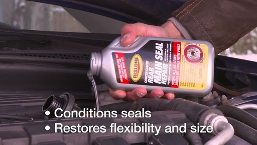 Rislone Concentrated Rear Main Seal Repair - image 6 from the video