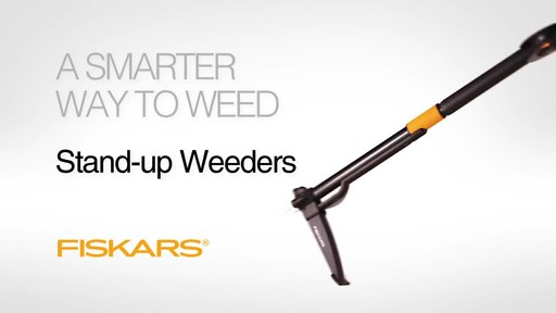 Fiskars Stand Up Weed Remover - image 3 from the video
