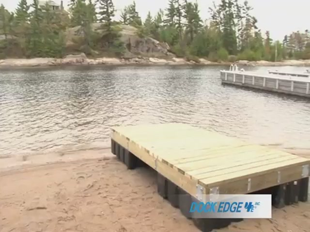 How to Install the Dock Edge Floating Dock - image 10 from the video