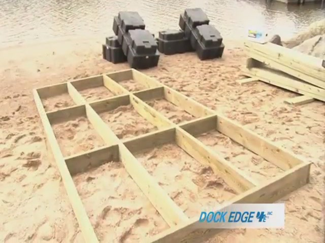 How to Install the Dock Edge Floating Dock - image 3 from the video