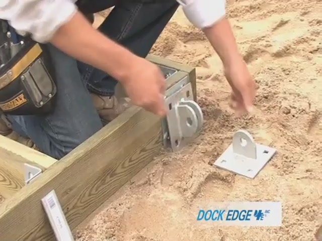 How to Install the Dock Edge Floating Dock - image 5 from the video