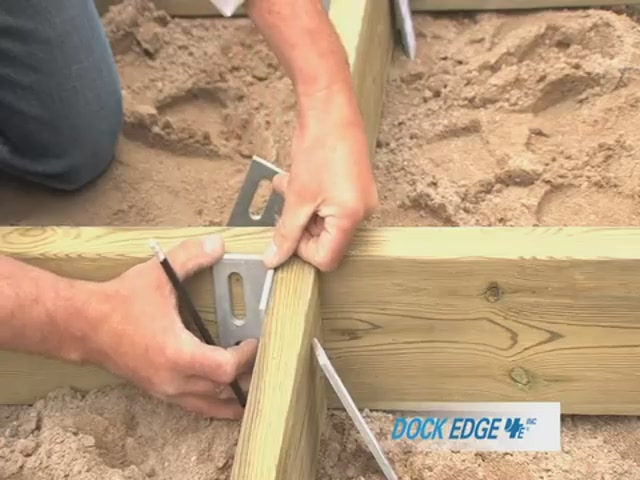 How to Install the Dock Edge Floating Dock - image 6 from the video