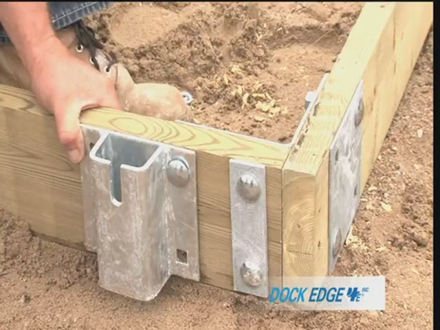 How to Install the Dock Edge Floating Dock - image 7 from the video