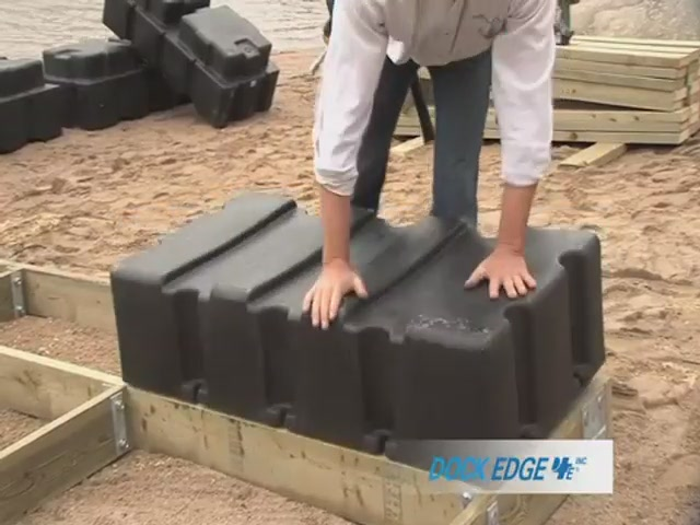 How to Install the Dock Edge Floating Dock - image 8 from the video