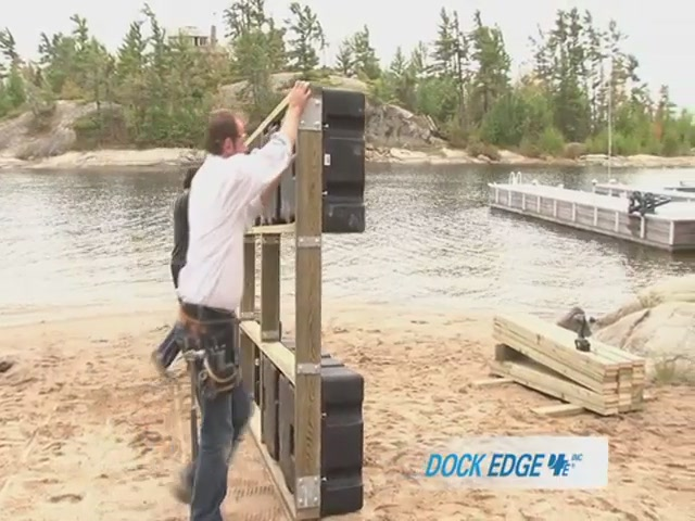 How to Install the Dock Edge Floating Dock - image 9 from the video
