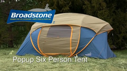 The Broadstone Popup 6 Person Tent - image 10 from the video