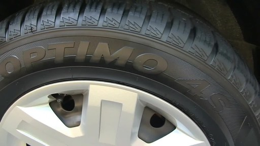 Hankook Optimo4S All Weather tires - image 10 from the video
