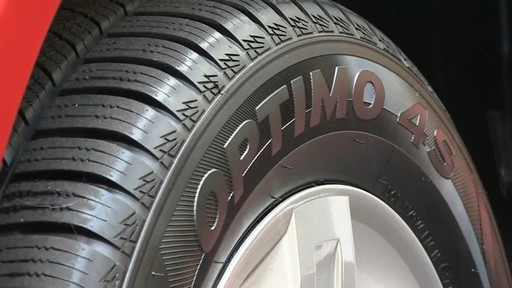 Hankook Optimo4S All Weather tires - image 2 from the video