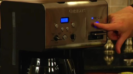 Cuisinart Programmable Hot Water System Coffee Maker