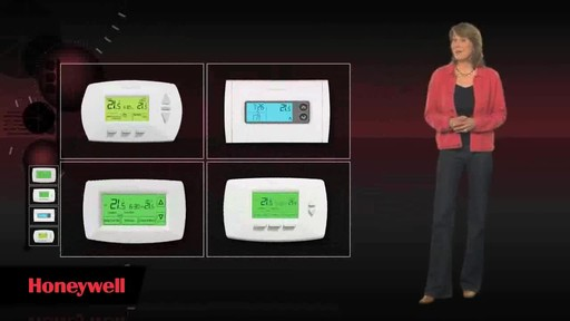 Honeywell Programmable Thermostats  - image 6 from the video
