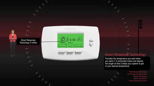 Honeywell Programmable Thermostats  - image 7 from the video