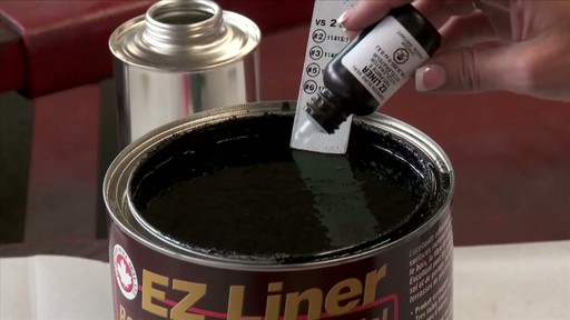 How to Coat Your Truck Bed with a Bedliner  - image 7 from the video