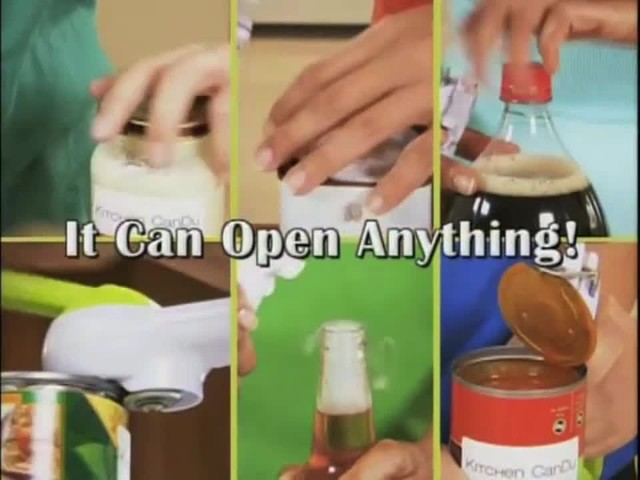 One Touch 6 in 1 Can Opener - image 10 from the video