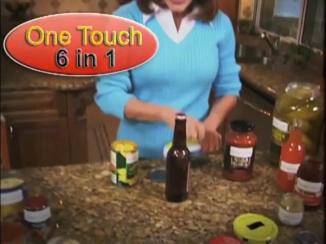 One Touch 6 in 1 Can Opener - image 2 from the video