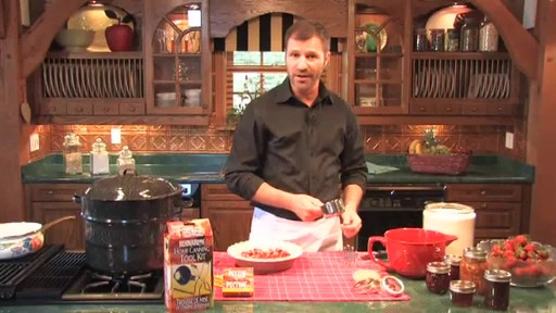 Home Canning Demonstration  - image 3 from the video