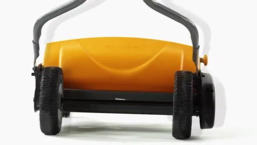 Fiskars StaySharp Max Reel Lawn Mower - image 3 from the video