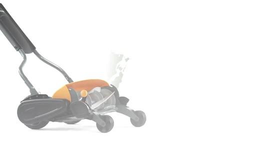 Fiskars StaySharp Max Reel Lawn Mower - image 5 from the video