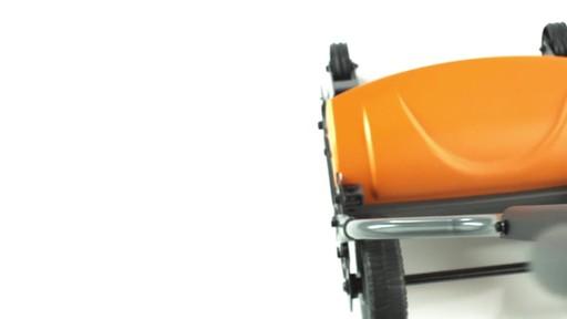 Fiskars StaySharp Max Reel Lawn Mower - image 6 from the video