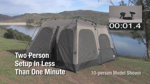 Coleman Instant Tent - image 1 from the video