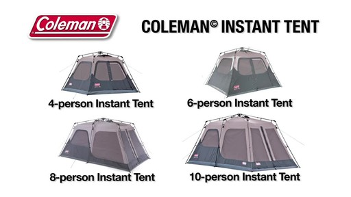 Coleman Instant Tent - image 10 from the video