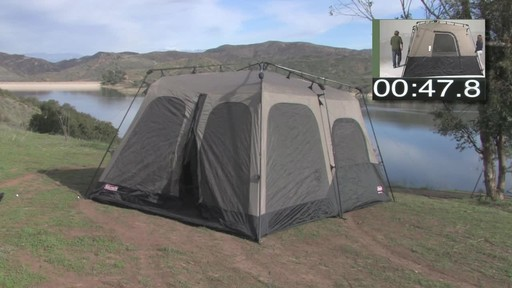 Coleman Instant Tent - image 8 from the video