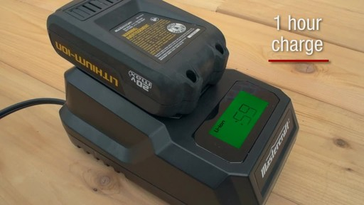 Mastercraft 20v Max Lithium-Ion Cordless Drill and Driver - image 6 from the video