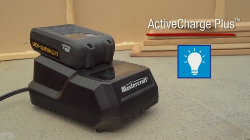 Mastercraft 20v Max Lithium-Ion Cordless Drill and Driver - image 7 from the video