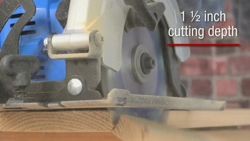 The Mastercraft 20-volt Lithium-Ion Cordless Circular Saw - image 3 from the video