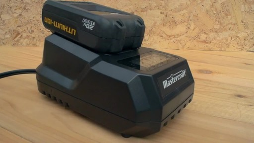 The Mastercraft 20-volt Lithium-Ion Cordless Circular Saw - image 7 from the video
