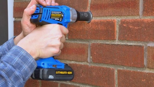 The Mastercraft 20-volt Lithium-Ion Cordless Impact Wrench - image 7 from the video