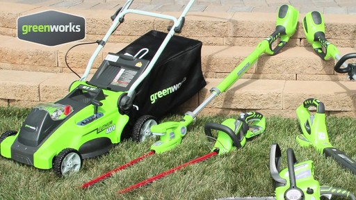Greenworks 40V 16-in Cordless Lawn Mower - image 8 from the video