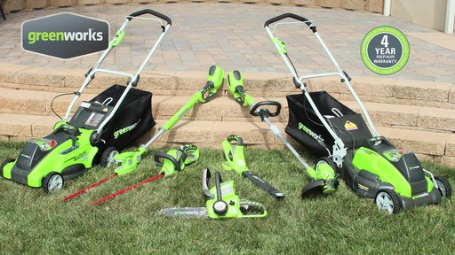 Greenworks 40V 16-in Cordless Lawn Mower - image 9 from the video