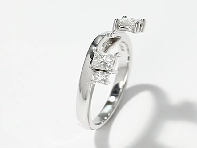 Leo Diamond Enhancer Ring 1 2 Carat Tw 14k White Gold