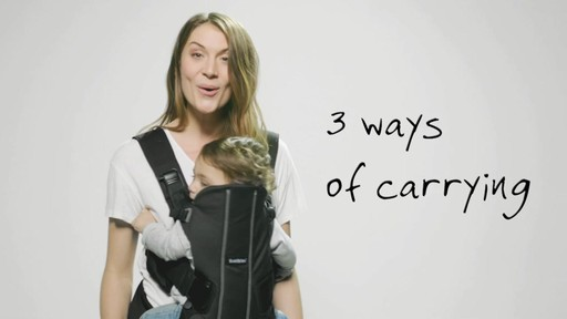BABYBJORN Baby Carrier We | drugstore.com - image 9 from the video