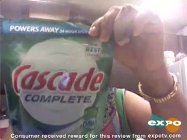 Cascade Complete Pacs Dishwasher Detergent Fresh Scent review | drugstore.com - image 1 from the video