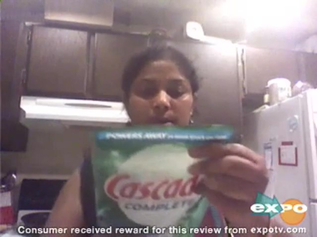 Cascade Complete Pacs Dishwasher Detergent Fresh Scent review | drugstore.com - image 8 from the video