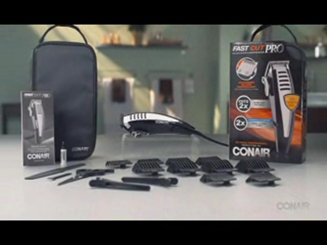 Conair Fast Cut Pro Haircutting Kit, 20 Pieces product | drugstore.com - image 10 from the video