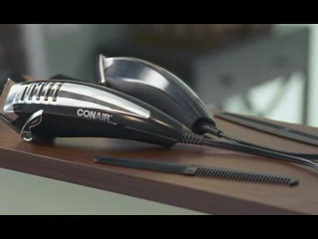 Conair Fast Cut Pro Haircutting Kit, 20 Pieces product | drugstore.com - image 2 from the video