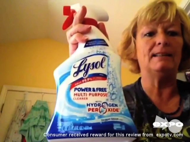 Lysol Power & Free Multi-Purpose Cleaner review | drugstore.com - image 1 from the video