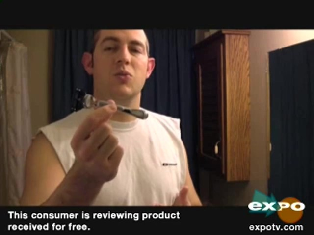Gillette Fusion ProGlide SilverTouch Manual Razor review | drugstore.com - image 10 from the video