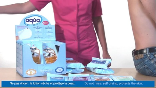 CLEANIS Aqua Pre-Moistened Wash Gloves product | drugstore.com - image 10 from the video