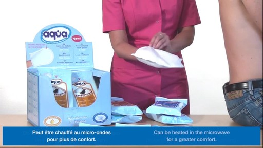 CLEANIS Aqua Pre-Moistened Wash Gloves product | drugstore.com - image 7 from the video