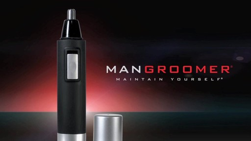 MANGROOMER Essential Nose and Ear Hair Trimmer product | drugstore.com - image 10 from the video