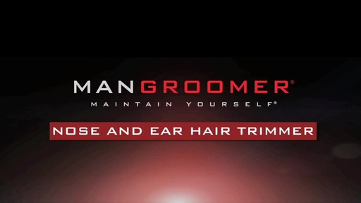 MANGROOMER Essential Nose and Ear Hair Trimmer product | drugstore.com - image 2 from the video
