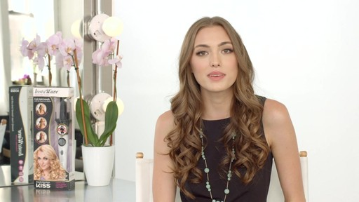 Kiss InstaWave Automatic Curler product | drugstore.com - image 10 from the video
