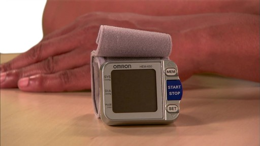 Omron 3 Series Wrist Blood Pressure Monitor, Model BP629 | drugstore.com - image 1 from the video