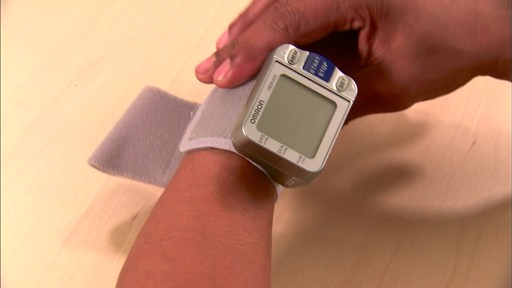 Omron 3 Series Wrist Blood Pressure Monitor, Model BP629 | drugstore.com - image 4 from the video